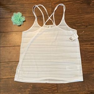 Forever 21 - White Tank - Size Large